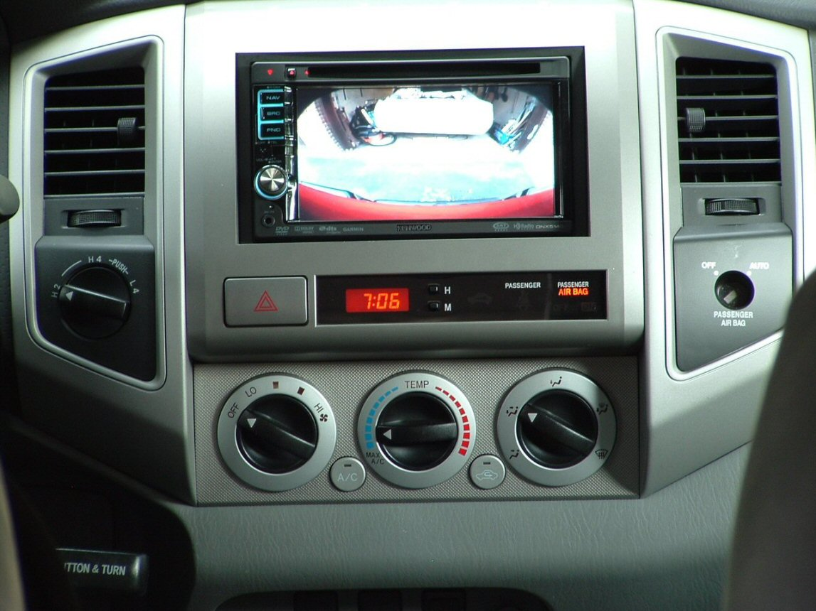 Kenwood backup camera